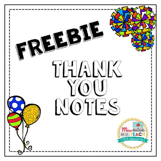 https://www.teacherspayteachers.com/Product/Thank-You-Notes-to-the-Teacher-1884164