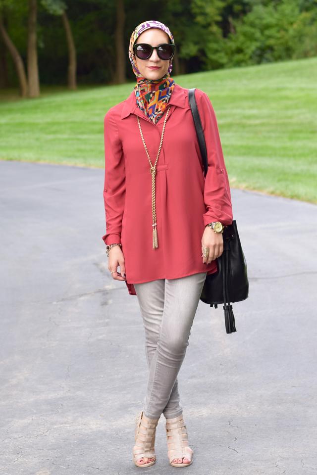 Fashion; Modesty; Fashion Blog; Fall Beauty; Fall Trends; Fashion Style; Fashion Trends; Fall Fashion; Rust; Bucket Bag