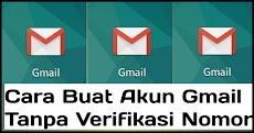 Cara buat banyak akun Gmail tanpa verifikasi nomor telepon