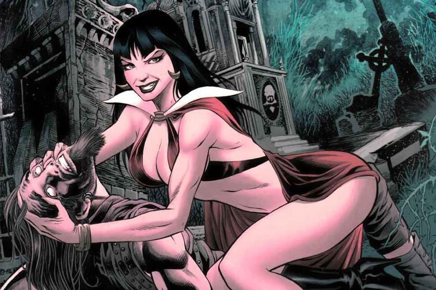 По мотивам комикса «Вампирелла» снимут новый фильм ужасов
