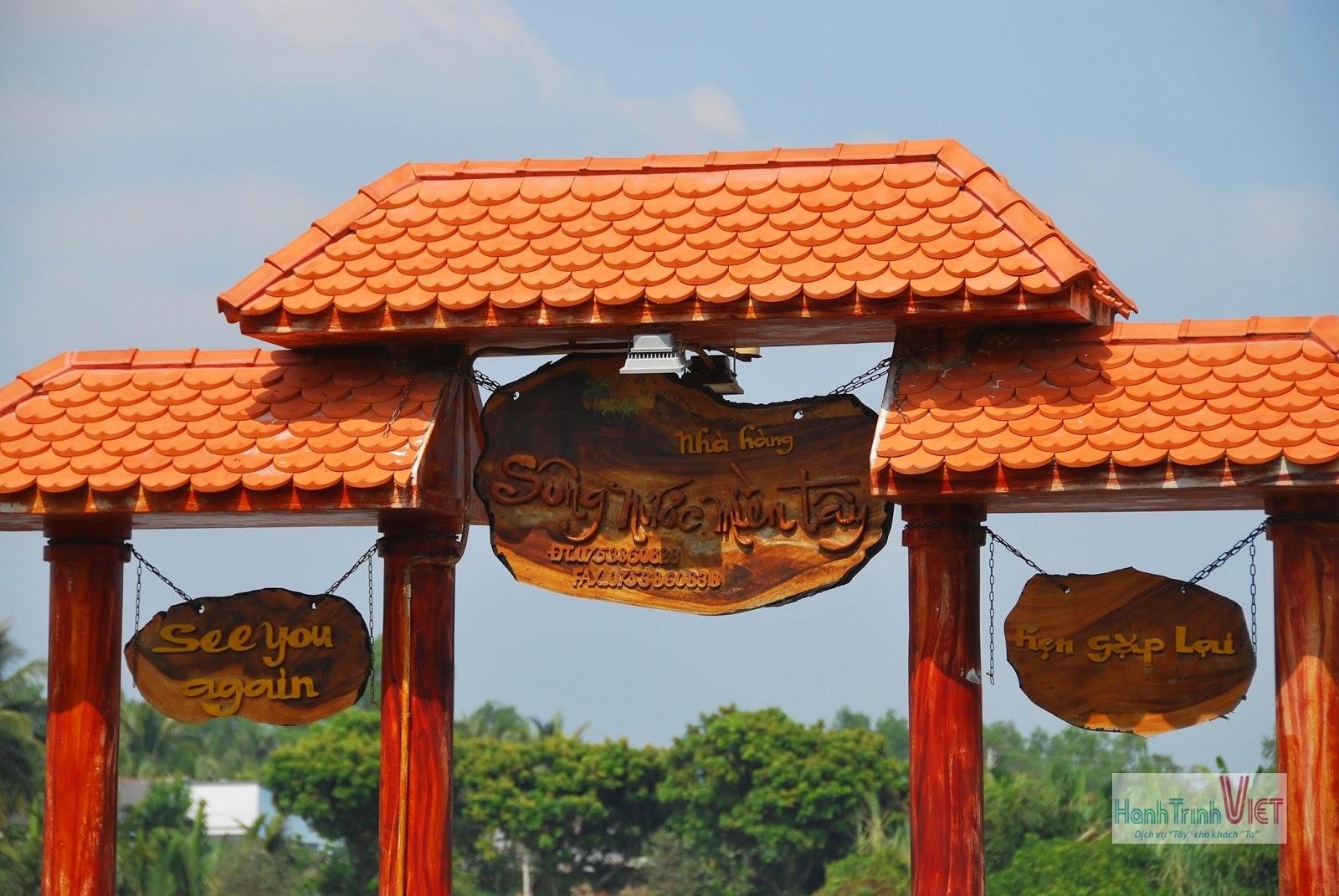 Tham quan nhà hàng Sông Nước Miền Tây ở Bến Tre