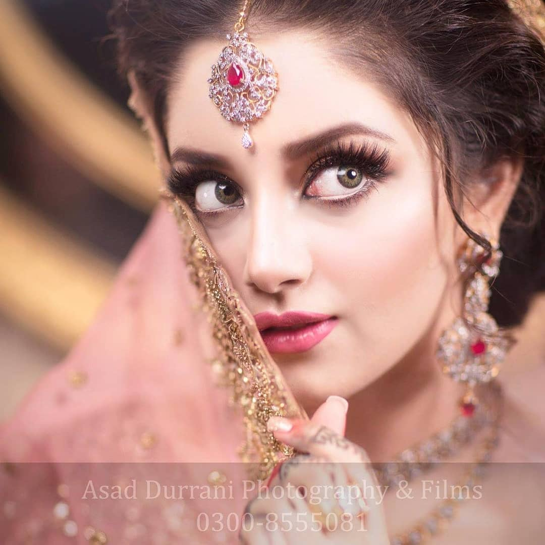 Alizeh Shah's Bridal Photoshoot