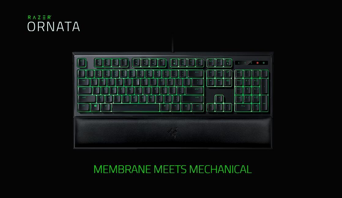 Razer Ornata Expert - Multi Color Membrane Gaming Keyboard - HOME