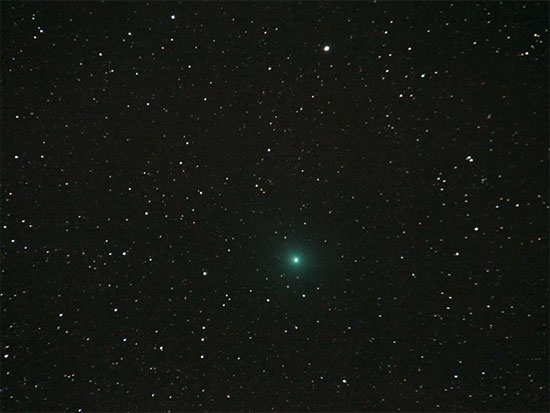 Comet 46P/Wirtanen as seen in Mexico (Source: Joe McMenamin)