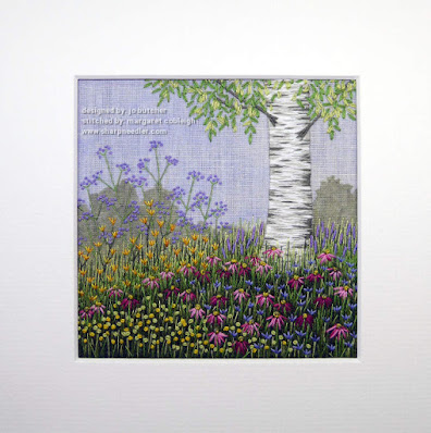 Under the Silver Birch (designed by Jo Butcher): complete with mat