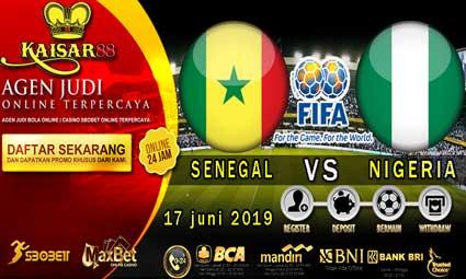 PREDIKSI BOLA TERPERCAYA SENEGAL VS NIGERIA 17 JUNI 2019