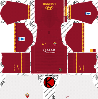 AS Roma 2019/2020 Kit - Dream League Soccer Kits