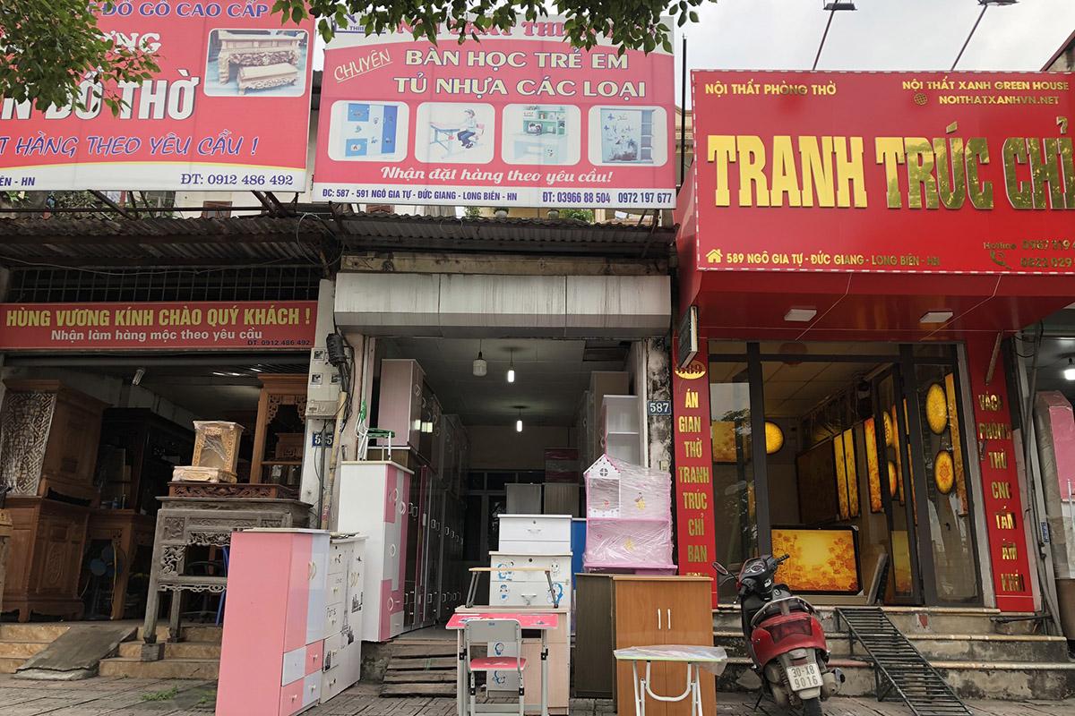 Cửa hàng nội thất tủ nhựa Thiên Phú ở 587 Ngô Gia Tự