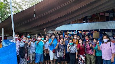 Srikandi dan Ibu-ibu Kelompok Dasawisma Garonggong Satukan Pilihan Menangkan Theo Zadrak