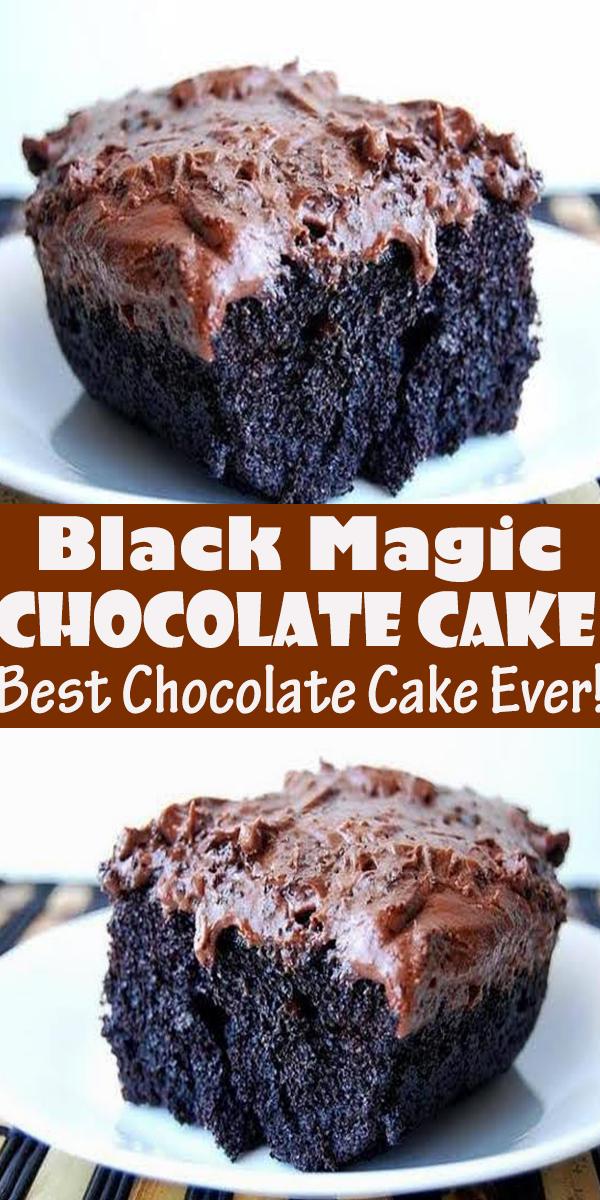 Black Magic Cake (Best Chocolate Cake Ever!) #BlackMagic #Cake #(Best #Chocolate #Cake #Ever!) #dessert #pie