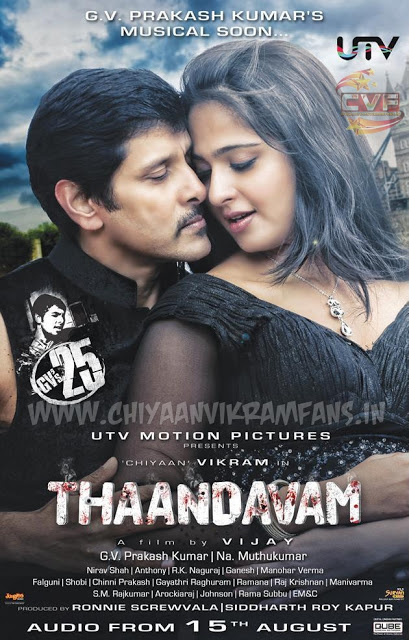 Thaandavam (2017) Hindi Dubbed Full Movie HDRip 720p