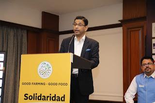 Solidaridad Asia,Madhya Pradesh State Rural Livelihood Mission,Good Farming Good Food,Netherlands government,vulnerable families,malnutrition,Digital Integration,Bart De Jong,East West Seed, media kesari मीडिया केसरी