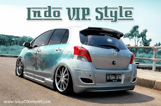 Modifikasi Keren Toyota Yaris Terbaru