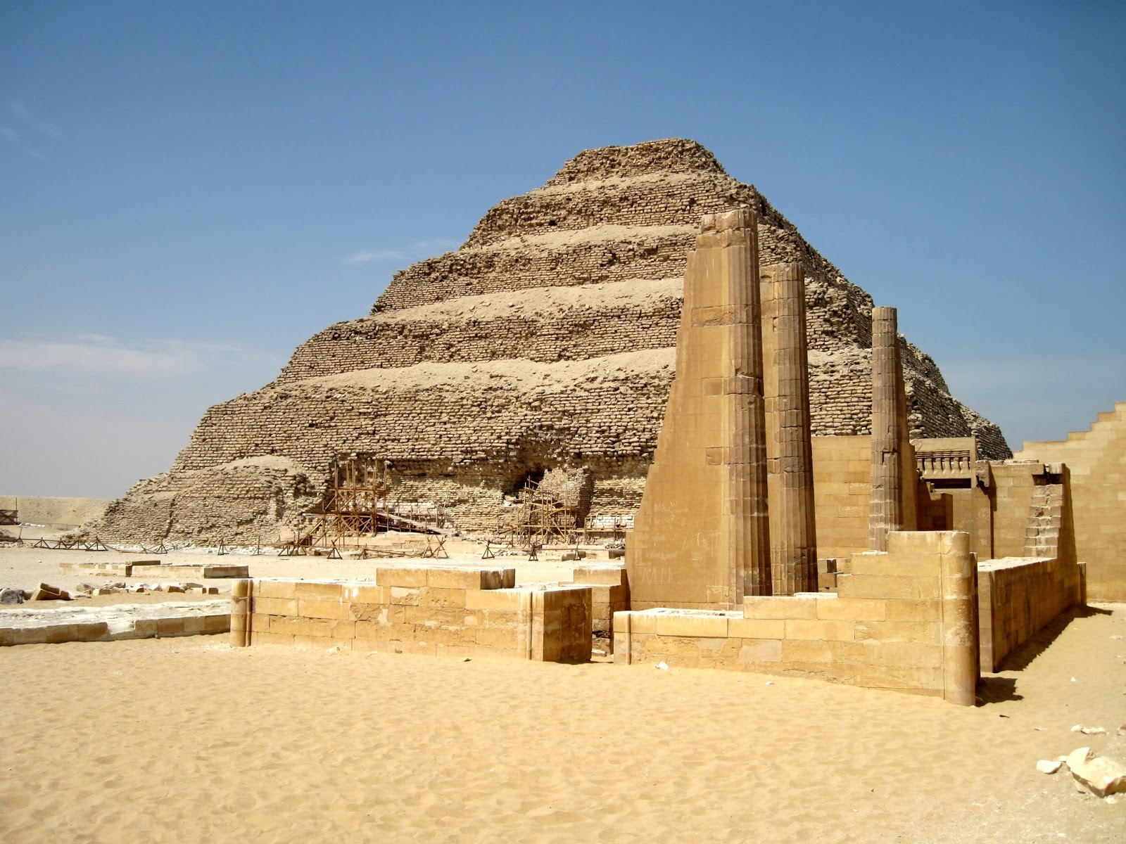 Day Trip to Sakkara, Memphis & Dahshur From Alexandria Port