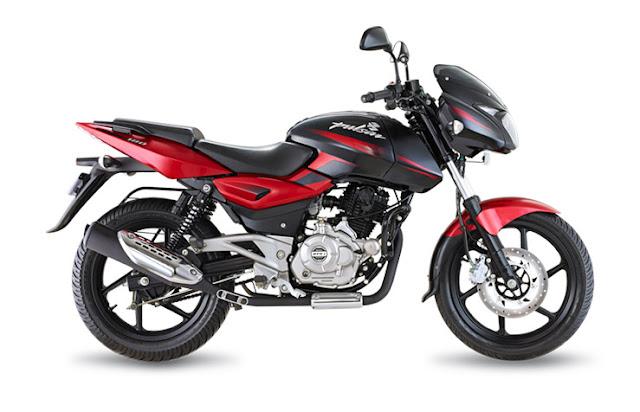 bajaj pulsar 180 dtsi bikes red