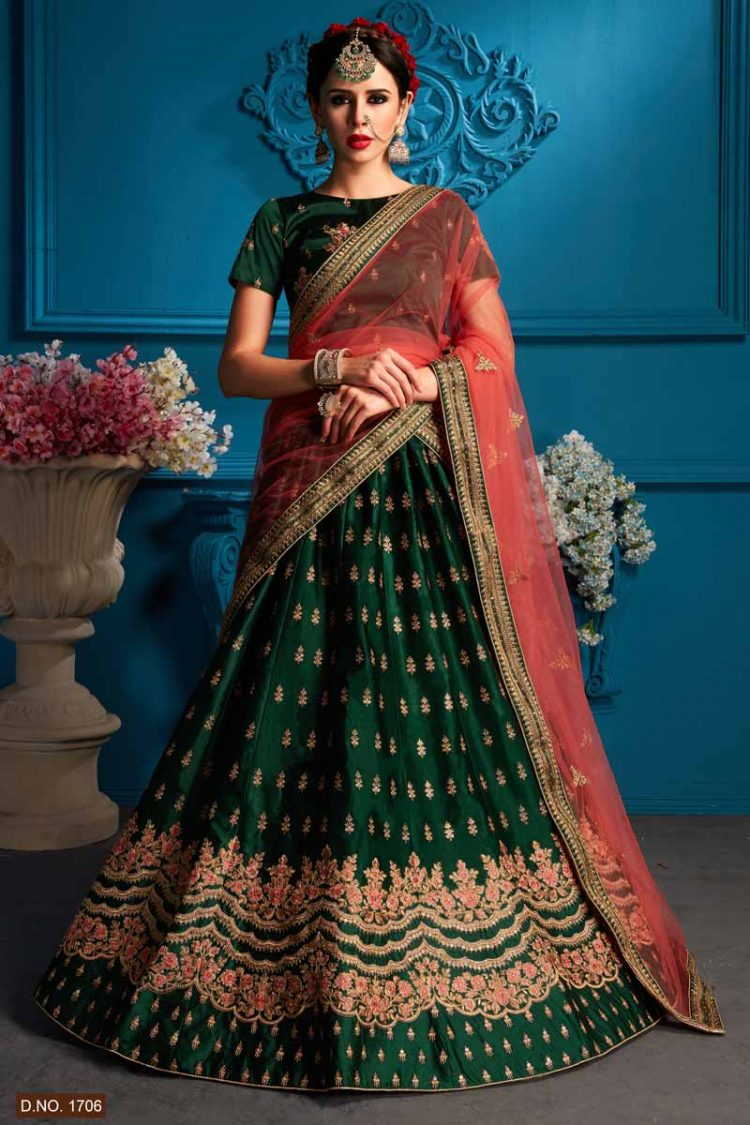 d63be21a3cd5 Latest Designs New Bridal Lehenga Collection