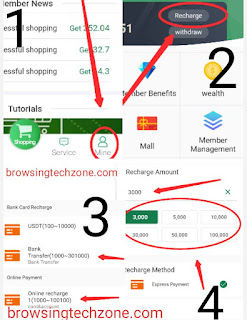 How to recharge Mybonus account