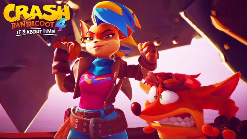 EPMRESS hacked Crash Bandicoot 4: It's About Time