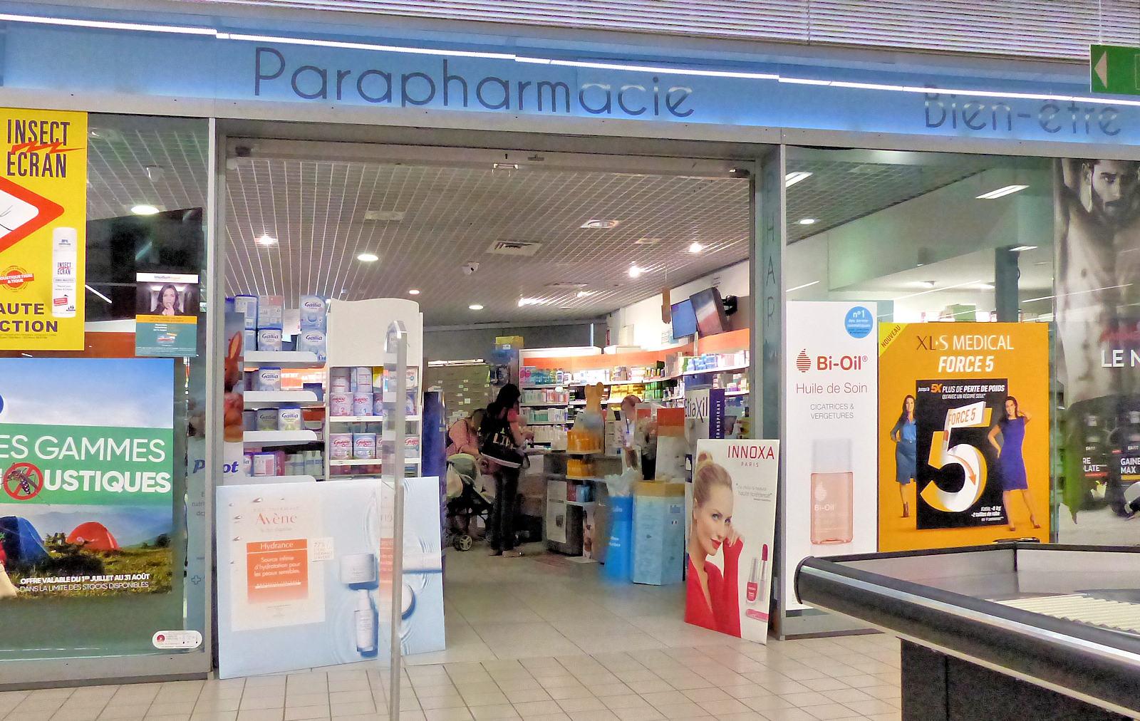 Pharmacie Saint Christophe, Tourcoing - Entrée côté caisses de Auchan City.