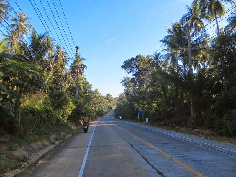 Дорога домой Самуи