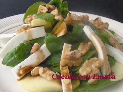 Ensalada de espinacas