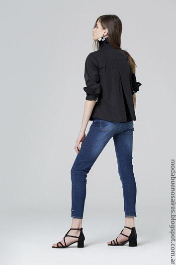 Moda jeans primavera verano 2017 ropa de moda.