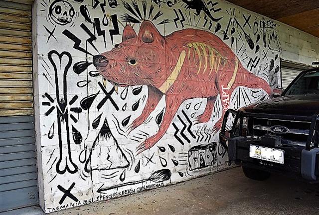 Queenstown Street Art | Spencer Keeton Cunningham