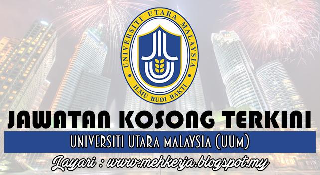 Jawatan Kosong Terkini 2016 di Universiti Utara Malaysia (UUM)