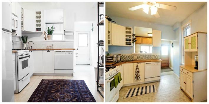 Deco antes y despu s de una cocina y un comedor el for Cocinas antes y despues