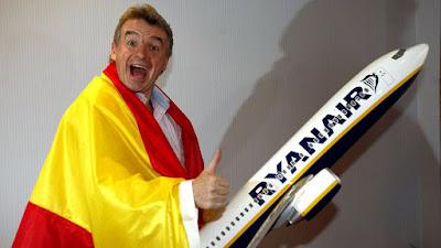 Ryanair, ERE para 512 empleados.