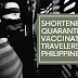 Guidelines for the Shortened Quarantine of Arriving Vaccinated Travelers in the Philippines