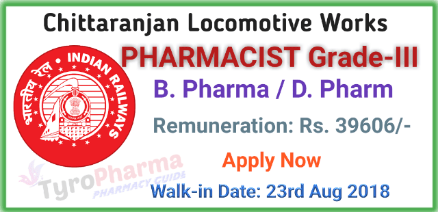 pharmacist-recruitment-at-clw-indian-railways