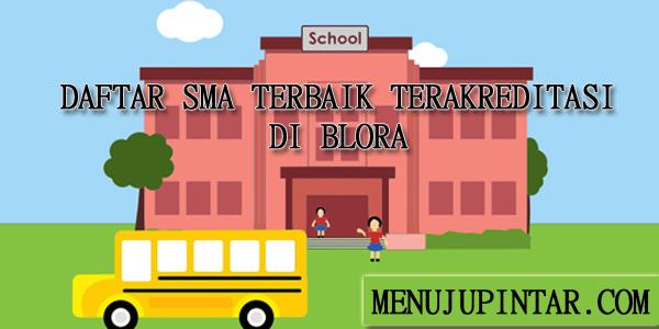 Daftar SMA di Blora