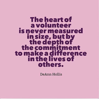 The Heart of a Volunteer is filled with kindness and compassion