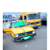 Mompha shares photo of the yellow taxi allegedly being used by Hushpuppi's father to earn a living