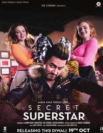 Secret Superstar 2017 Full Hindi Movie HDRip Download
