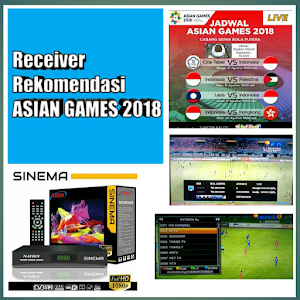 Receiver Parabola Rekomendasi Asian Games 2018
