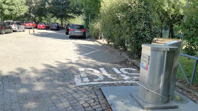 Parque estacionamento Autocarro Praia de Adaúfe