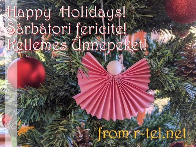 Happy Holidays *~* Sărbători fericite *~* Kellemes Ünnepeket