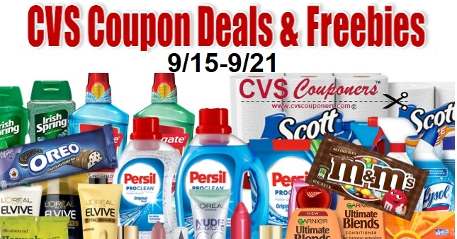 CVS Coupon Deals 915-921