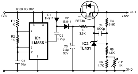 reverse voltage protection circuit diode switch circuit