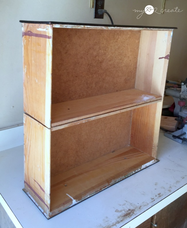testing out how to use the drawers to make a cubby organizer
