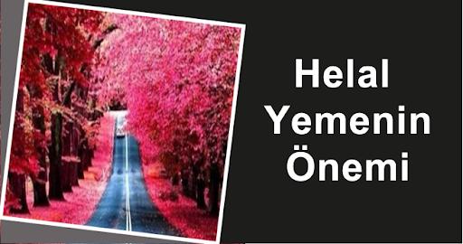 Helal Yemenin Önemi