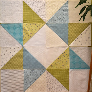 #QuiltBee: Lone Star baby quilt