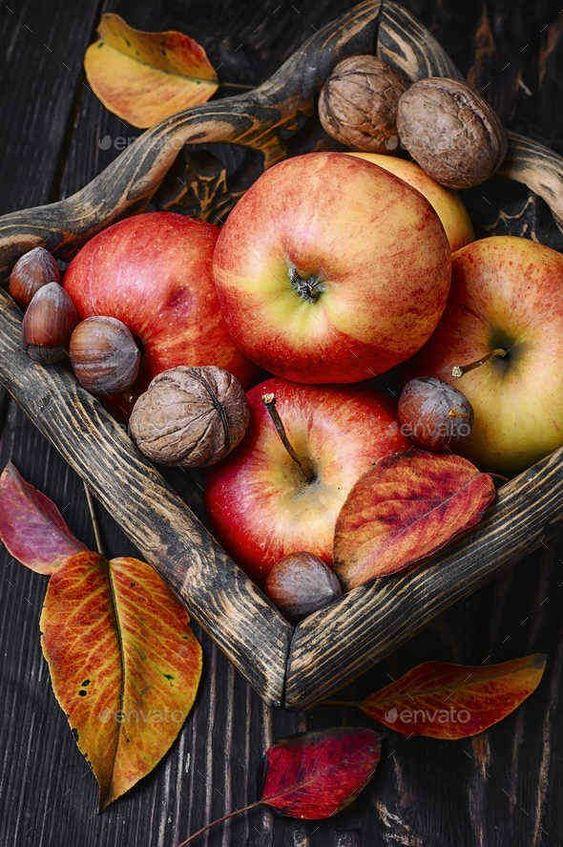 Gambar  Wallpaper keren buah apel