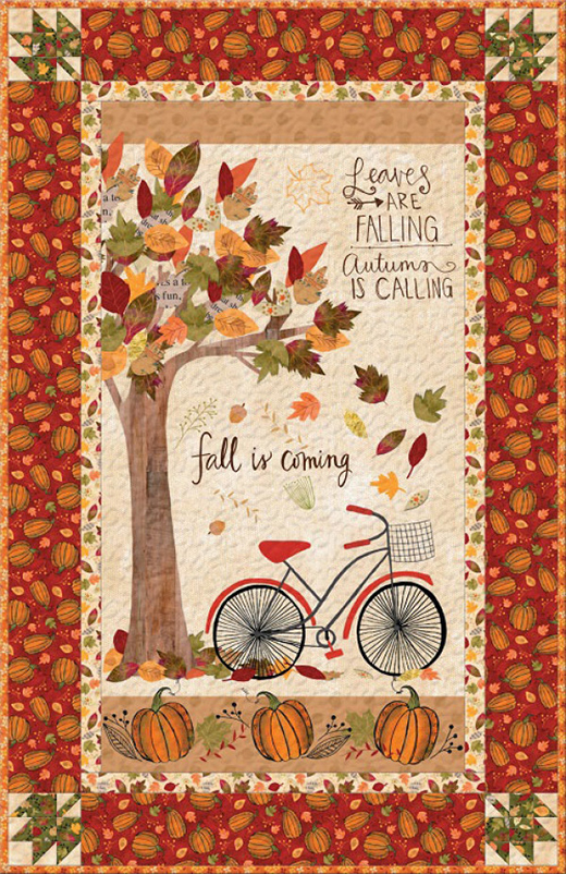 Autumn Road Quilt designed By Katie Doucette of Wilmington Prints for Bear Creek Quilting Company