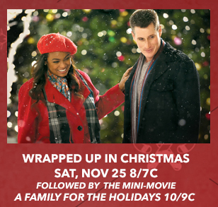 wrapped up in christmas a lifetime christmas movie premiere starring tatyana ali brendan fehr - Lifetime Christmas Movies