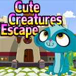 Games4King Cute Creatures Escape Walkthrough