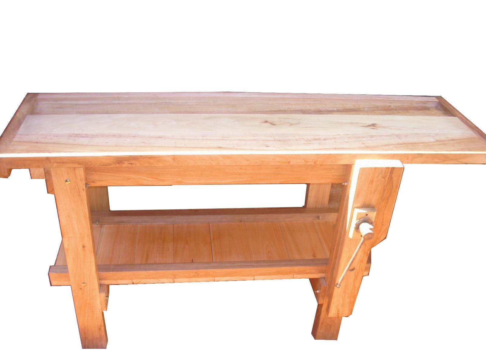 Banco de carpintero en madera dura carpinterof - Banco de madera ...