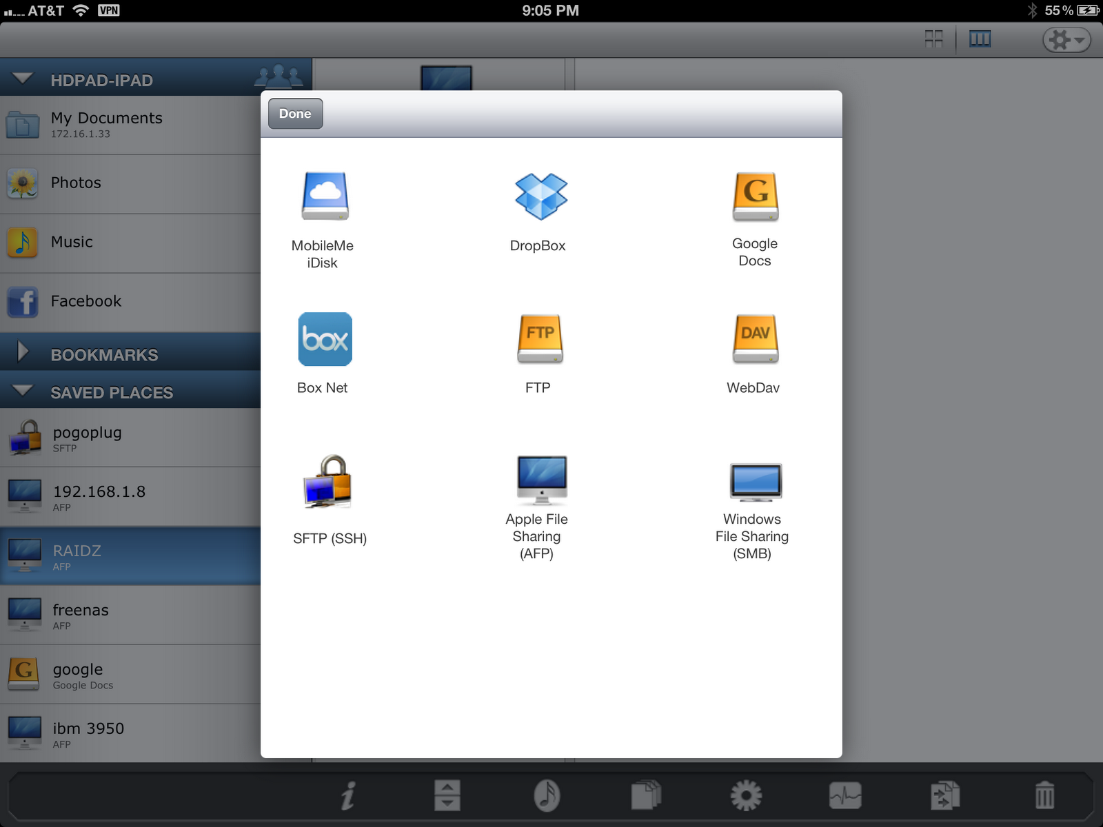 Fortysomething Geek: iPad / iPhone connect with FreeNAS (or any *NIX)